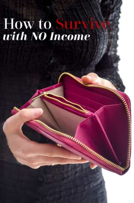 Did you recently lose your job and are worried how you'll make ends meet? You're not alone! Use these tips to learn how to survive with NO income now before it's too late to learn.