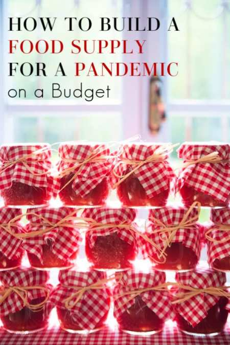 Are you preparing for a pandemic? Let me show you how to build a food supply for a pandemic on a budget AND what foods to start building your pandemic food supply with!