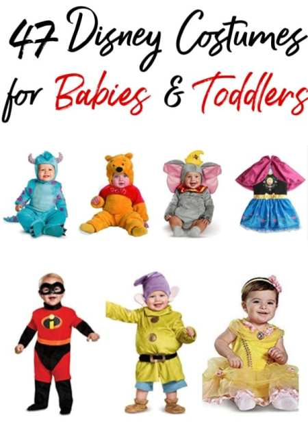 Halloween is coming and your little one needs an adorable costume. These 47 Disney Halloween Costumes for babies & toddlers are just what you're looking for!