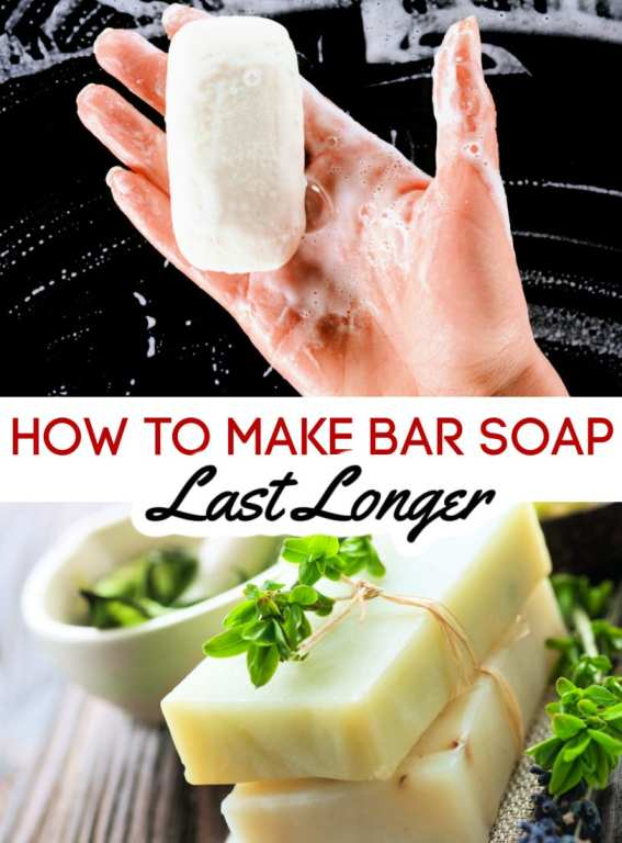 Bar soap is cheaper than body wash, but it just seems to melt away quickly. Let me show you how to make bar soap last longer with these three simple tricks.