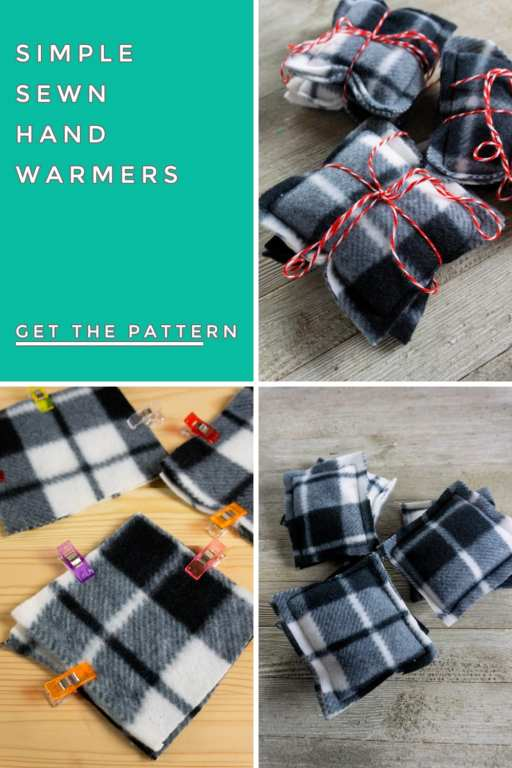 If your hands are constantly freezing, you may be paying for expensive one time use hand warmers to keep warm them up. Stop paying for them and make these DIY hand warmers instead! They're super simple to sew and ccan be used over and over again!