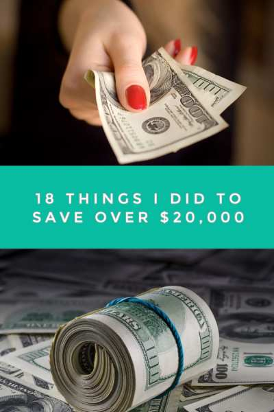 Sometimes saving money means teaching yourself new tricks. If you're stuck at how to save more, here are 18 things I did to save over $20,000! It's simpler than you think!