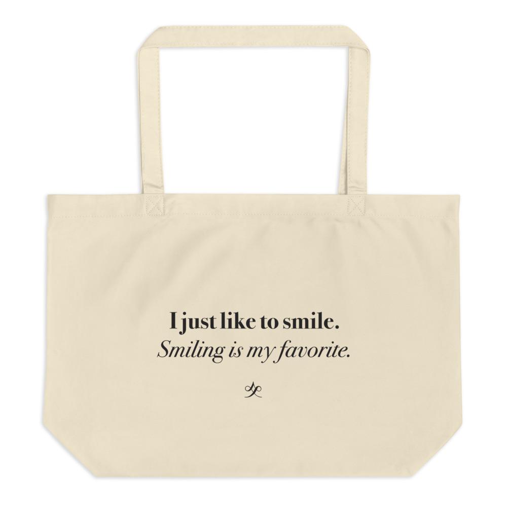 Like to Smile Organic Tote