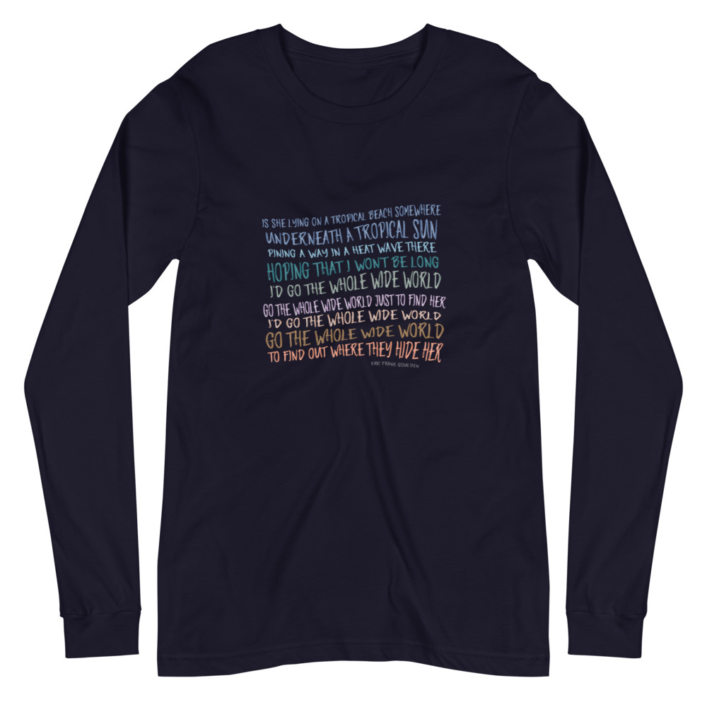 whole wide world long sleeve