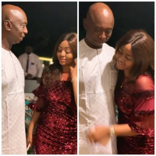 Loved up photos of Regina Daniels and her husband, Ned Nwoko