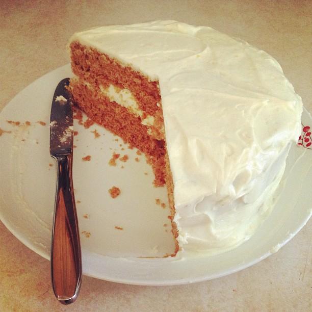 Belated birthday cake!