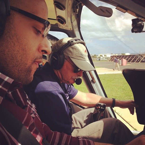 Our pilot and Philip