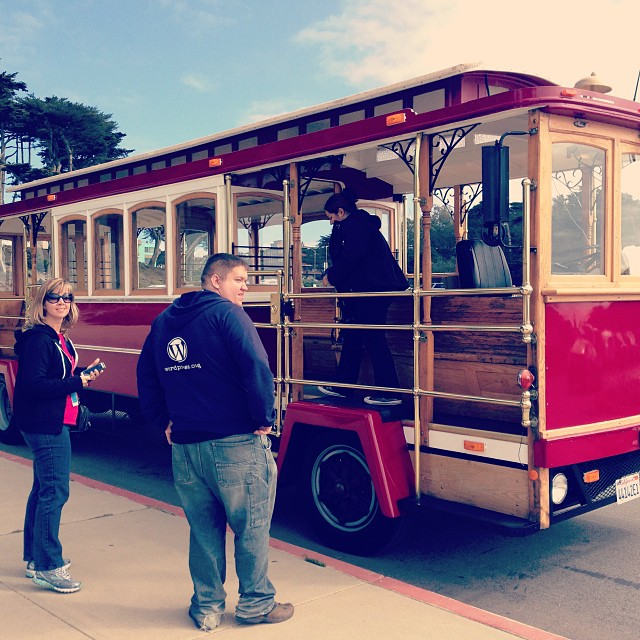 Warren's tour trolley