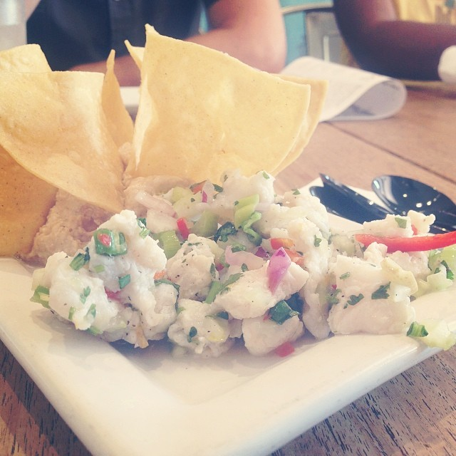 Ceviche from Books & Books