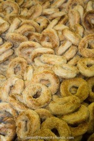 Hot Bagels Straight Out of the Oven