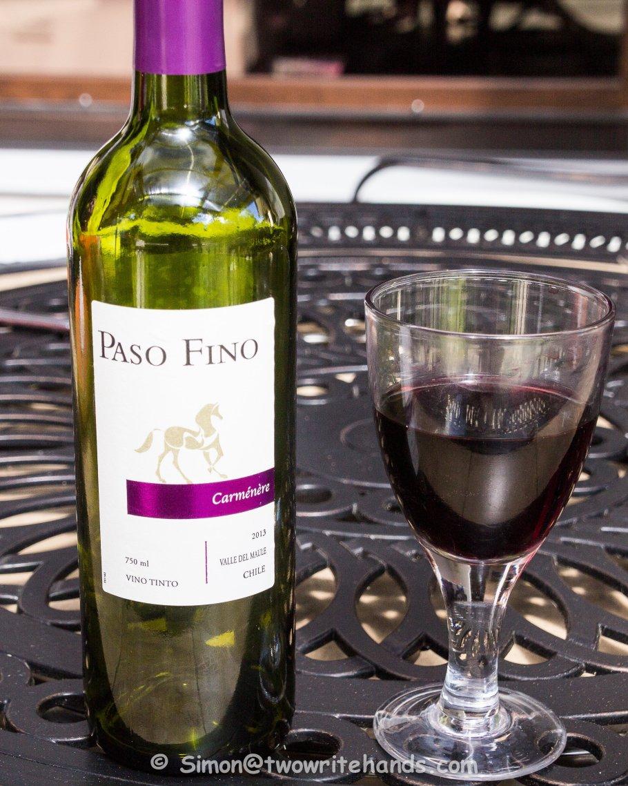 Carmenere wine - the bottle