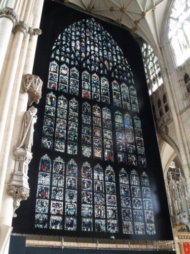 York Minster East Window (Photo borrowed from http://docbrown.info)