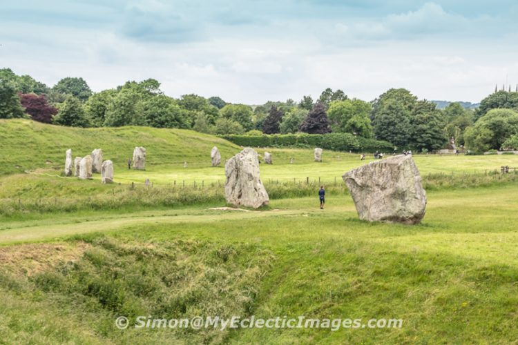 Part of Avebury Circle in Wiltshire