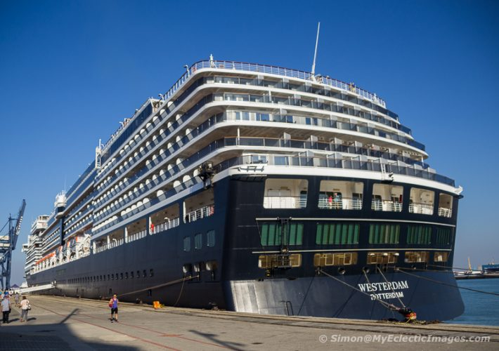 The Westerdam Docked in Cadiz