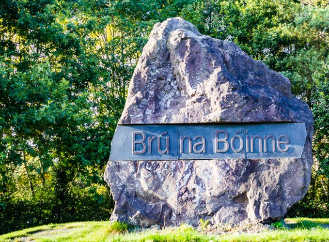 Entrance to Brú na Bóinne