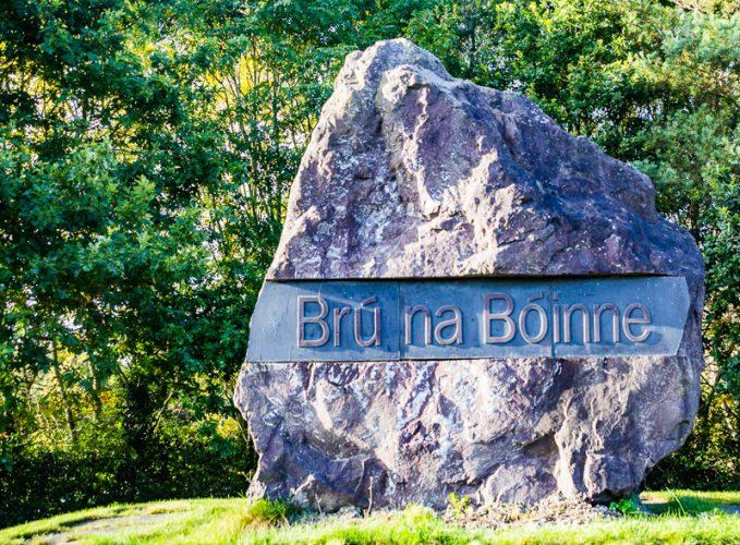 Entrance to Brú na Bóinne