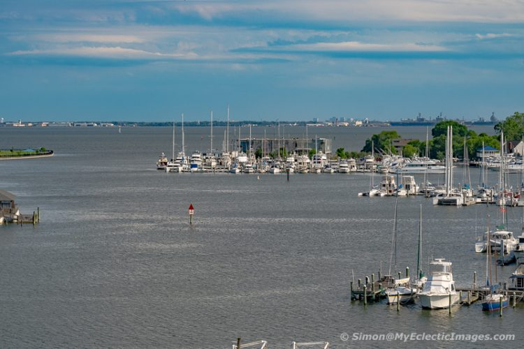 View Hampton Harbour from the Space Museum Roof Top (©simon@myeclecticimages.com)