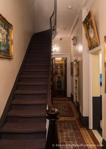 Stairway to the Upper Floors of the Colonial House Inn (©simon@myeclecticimages.com)