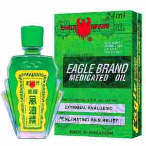 Eagle Brand Medicated Oil - Dau Gio Xanh Con O - 24ml