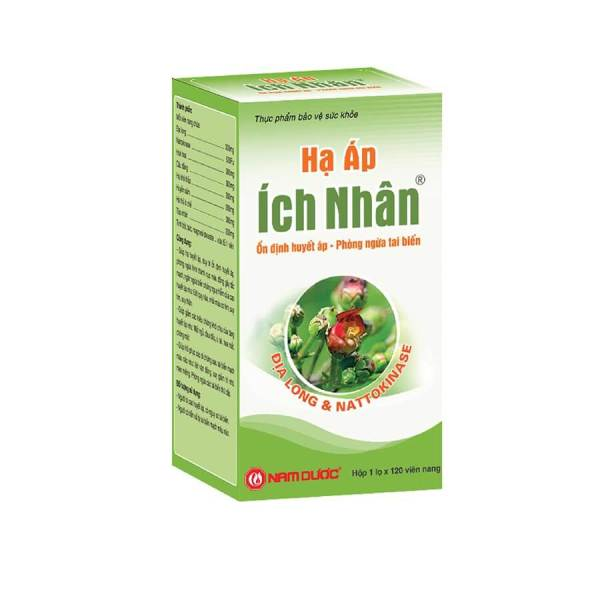 Ich Nhan Pressure Relief from Vietnam - For the treatment of high blood pressure - 120 capsules