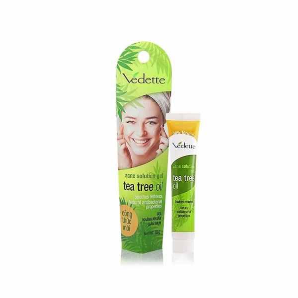 Vedette Tea Tree Oil Gel 18g from Vietnam Anti-Acne Gel