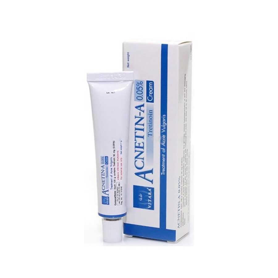 Acnetin A Tretinoin 0,05% - Treatment of acne vulgaris - 10 g