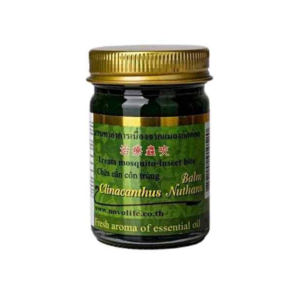 Balm Clinacanthus Nutans 50g Green Herb Thailand
