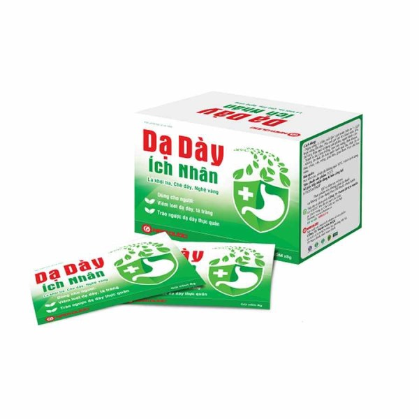 Da Day Ich Nhan - Treatment of acute and chronic stomach ulcers - 10 sachets