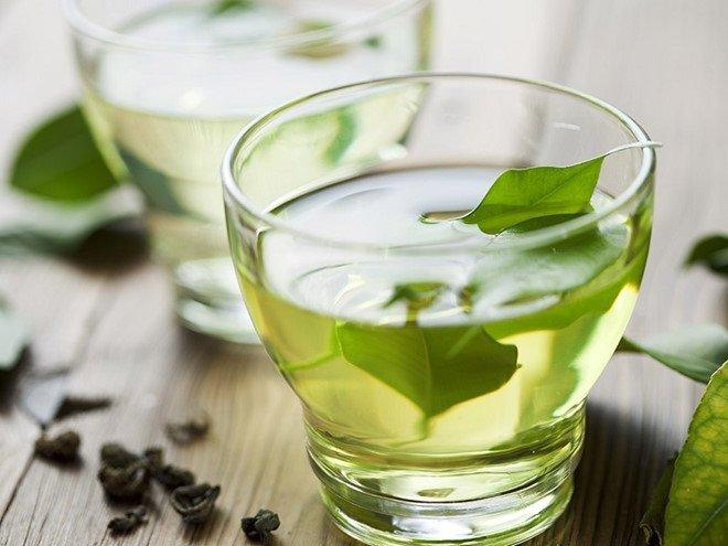 Fresh tea Lá Trà Xanh Tươi