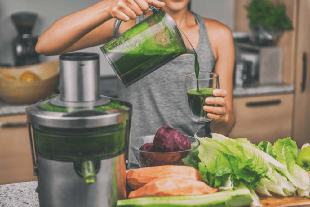 Purify the body with juice