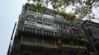 The 'famous' India Guest House where we stayed