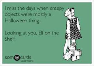 elf creepy