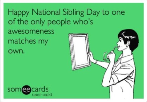 someecard sibling