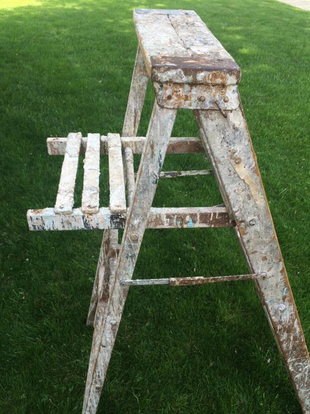 window ladder old