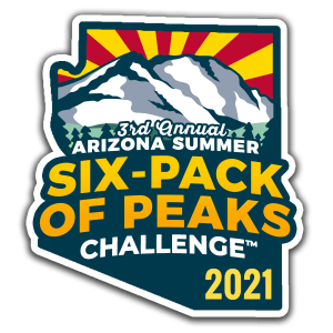 2021 Arizona Summer Six-Pack of Peaks Challenge