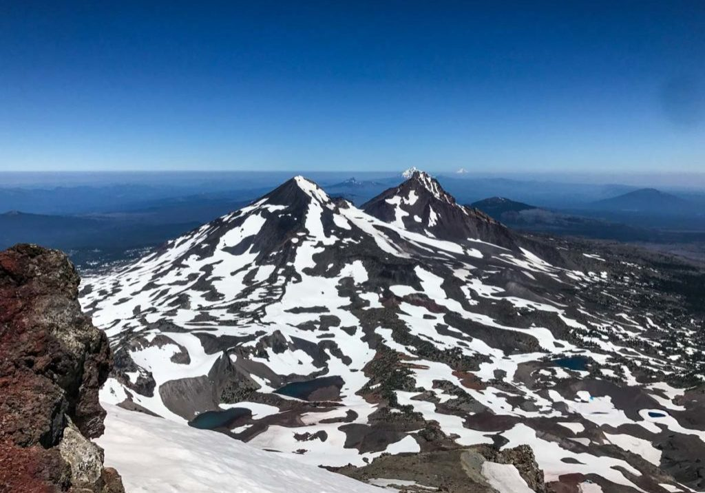 View from the summit of South Sister
