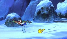 ash pikachu winter snow