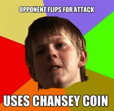 chansey coin meme