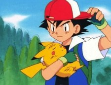 ash ketchum hat backwards pikachu