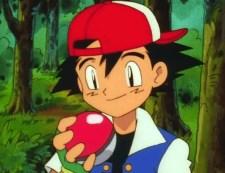 ash poke ball forest