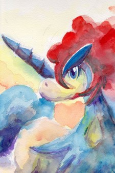 keldeo watercolor