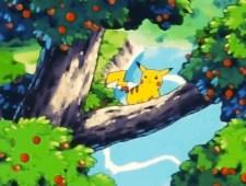 pikachu tree anime