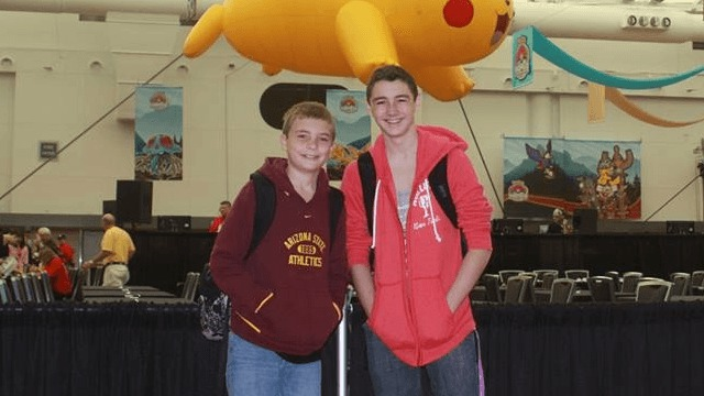 colin coyle plus cousin before players meeting worlds 2013
