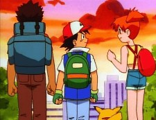 ash misty brock determination