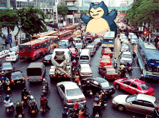 snorlax traffic jam