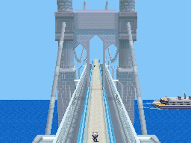 skyarrow bridge black white