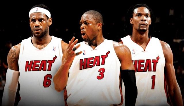 miami heat big three