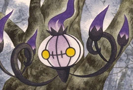 chandelure nvi artwork