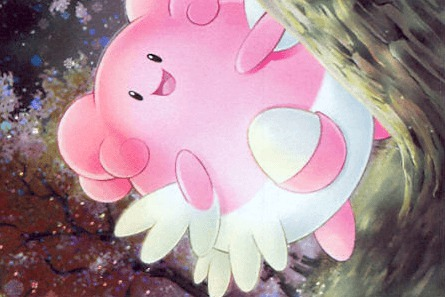 blissey mysterious treasures artwork