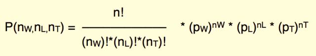 multinomial distribution equation